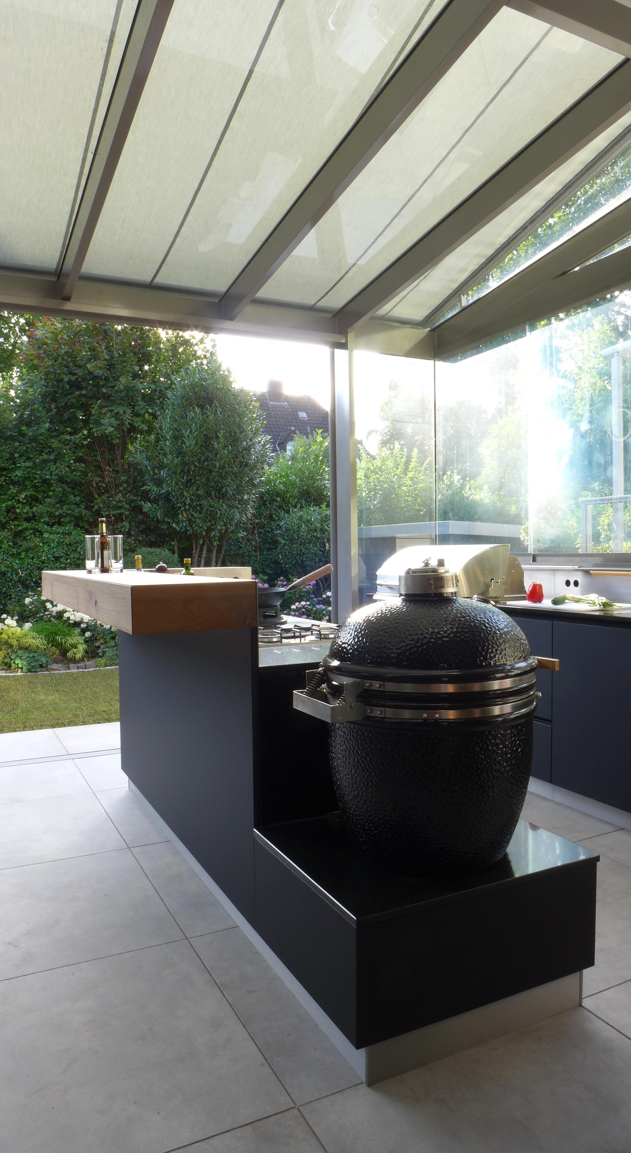 outdoor kuche uberdacht